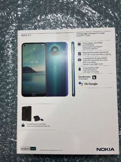 分享我的幸运,开箱Nokia 3.4高CP值手机
